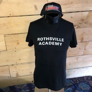 Vintage 70-80s Rothsville Academy T-shirt. Size L